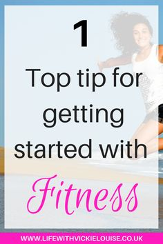 If I could give you the number 1 top tip for getting started with fitness, it would be….  Do what you love!!! Don't think you will (or have to) enjoy a certain way of exercising just because its popular, or because your friends are doing it, or even because it seems popular on Facebook …