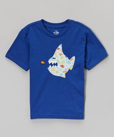 Love this Blue Shark Handmade Tee - Infant, Toddler & Kids by The Sassy Seamstress on #zulily! #zulilyfinds