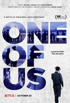 In their new documentary ONE OF US, acclaimed observational filmmakers Heidi Ewing and Rachel Grady (JESUS CAMP, DETROPIA) take a deep and moving look at the lives of three individuals who have chosen to leave the hugely insular world of Hasidic Judaism. Netflix Movies To Watch, Hd Movies, Movies Online, Movie Tv, Horror Movies, True Crime, Isabelle Nanty, Jesus Camp, Jean Paul Rouve