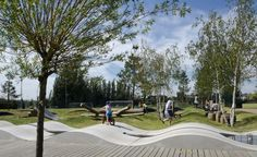 KLA, Drapers Field playspace, East London