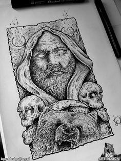 Drawing by https://www.facebook.com/KGDesignArt/