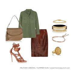 For a warm weather www.thestylepunch.com #outfit #warm #weather