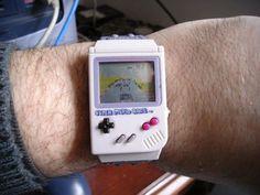 Nintendo Game Boy Watch Back in 1989 Nintendo revolutionised the video game ind. - - Nintendo Game Boy Watch Back in 1989 Nintendo revolutionised the video game industry by releasing - Super Nintendo, Nintendo Games, Game Boy, Mini Things, Cool Things To Buy, Yoshi, Game & Watch, Watch 2, Nerd