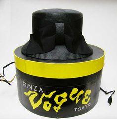 銀座ボーグのシゾールの帽子