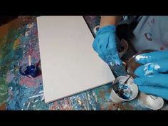 Creating Cells in Fluid Painting Technique (2017) - YouTube