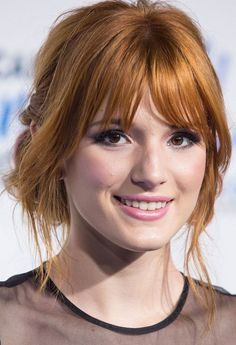 Bella Thorne Long Hairstyle: Messy Updo