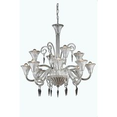 12 Light Elegant Crystal Chandelier | Wayfair