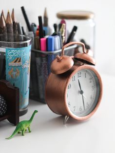 Copper Clock DIY | The Crafted Life