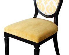 Cresta que cena la silla por MortiseandTenon en Etsy