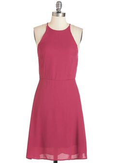 ModCloth Refreshing Finesse Dress in Sangria