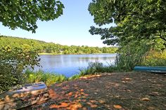 Sunset Lake, a scenic neighborhood in the Martinsville section of Bridgewater where its residents feel like they're on vacation at home! #SunsetLake #MartinsvilleNJ #BridgewaterNJ #Lakeliving  LISA BERCHOFF, Weichert Realtor & Home Staging Professional  (908) 334-9399  Lisa@LisaBerchoff.com Sunset Lake, Home Staging, Playground, Bungalow, The Neighbourhood, Sailing, Golf Courses, Home And Family, Lisa