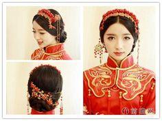 中式古典,新娘发型,温婉端庄,最美新娘