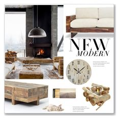 """""""New Modern"""" by alynncameron ❤ liked on Polyvore featuring interior, interiors, interior design, home, home decor, interior decorating, Jayson Home and modern"""