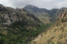 Cathedral Peak above Esperero Canyon