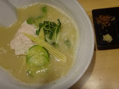Chicken stock soup SOBA