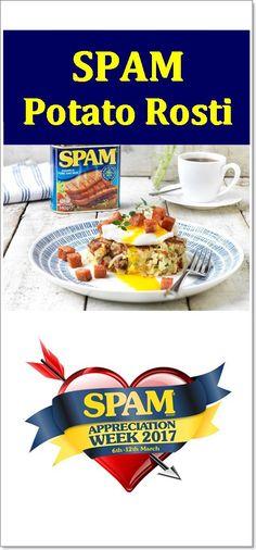 SPAM® Potato Rosti - Fab Food 4 All