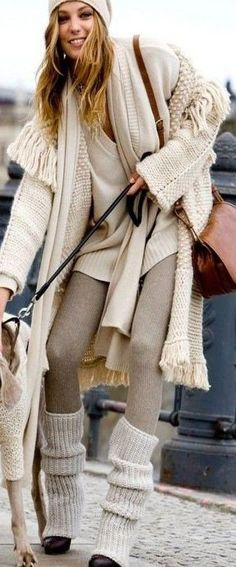 Knitted fashion for