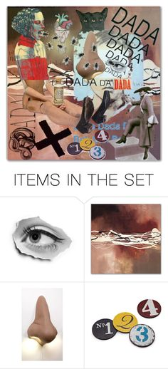 """""""I'm Never Good at Dada Sets"""" by aunt-kiki ❤ liked on Polyvore featuring art"""