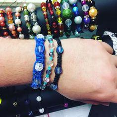 Naramky z minerálu a polodrahokamů #macrame #bracelet #preciousstones #leatherbracelet #handmade #handmadejewelry  #ozdobenoodhanicky Beaded Bracelets, Jewelry, Fashion, Jewlery, Moda, Jewels, La Mode, Jewerly, Fasion