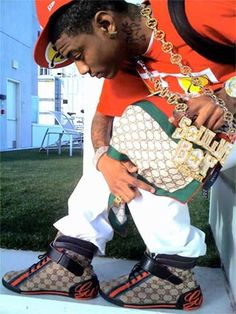 soulja boy gucci shoes