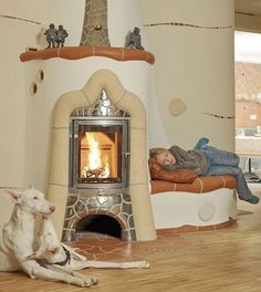 love this fireplace ♥.