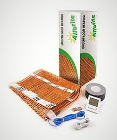 As well as individual mats, we sell our underfloor heating in heating kits with all underfloor heating components. Electric Underfloor Heating, Underfloor Heating Systems, Types Of Flooring, Renewable Energy, Solar, Hardware, Computer Hardware