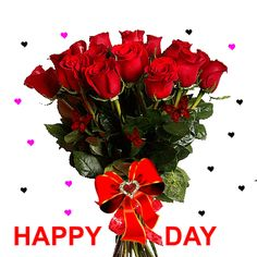 Beautiful Flowers Images, Flower Images, Beautiful Roses, Beautiful Day, Beautiful Pictures, Birthday Greetings, Birthday Wishes, Happy Birthday, Good Morning Happy Sunday