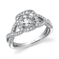 my dream ring with the infiniti symbol on the side