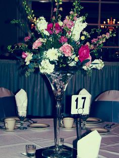 47 best martini glass centerpieces images on pinterest martini rh pinterest com