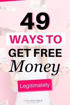 finance organization Over forty ways that you can get free money or cash now. Make Money Today, Make Money Fast, Make Money From Home, Free Money, Make Money Online, Free Cash, Money Tips, Money Saving Tips, Money Hacks