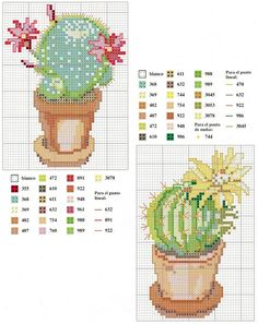 Thrilling Designing Your Own Cross Stitch Embroidery Patterns Ideas. Exhilarating Designing Your Own Cross Stitch Embroidery Patterns Ideas. Cactus Cross Stitch, Mini Cross Stitch, Cross Stitch Alphabet, Cross Stitch Flowers, Counted Cross Stitch Patterns, Cross Stitch Charts, Cross Stitch Designs, Cross Stitch Embroidery, Learn Embroidery