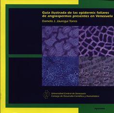 Recomienda: Guía ilustrada de las epidermis foliares de angioespermas presentes en Venezuela, de la Profa. Damelis Jáuregui #UCV @ftapia @saberucv @araujoyandra