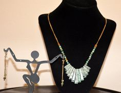 Antique look Turquoise Jewelry by BeJewelArtsy on Etsy