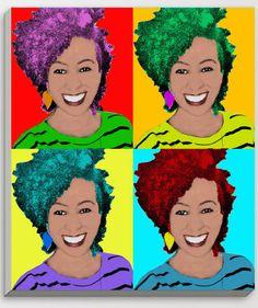 Quadro personalizado Pop Art com sua foto preferida, opções de estilos e tamanhos, despachamos para todo país - fotopop.com.br
