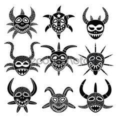 puerto rican masks drawings - Google Search