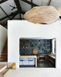 """""""Tropical Mood: In Bali, a stunning exotic architecture, with Mediterranean accents, design and colour by Architects Valentina Audrito and Abhishake Kumbhat"""" - EXOTIC ESCAPE -"""