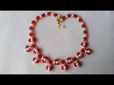How to make beaded necklace in 10 minutes - YouTube