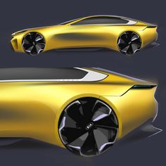 KIA Salooooon #yellow #Kia #sketches #photoshop #long #luxury #render #asketchadaykeepsthedoctoraway #auto #fast #cardesign