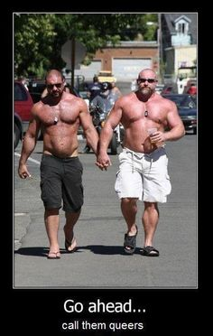 You still open about hating gays? I dare you I Dare You, Muscle Bear, Gay Couple, Couple Pics, Man Humor, Laugh Out Loud, Laugh Laugh, Funny Photos, Funny Images