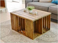 These free coffee table plans will help you create a stunning centerpiece for your living. Building a coffee table is a simple project, and with these free detailed plans, you'll be able to build one in a weekend. #coffeetable #coffeetableideas