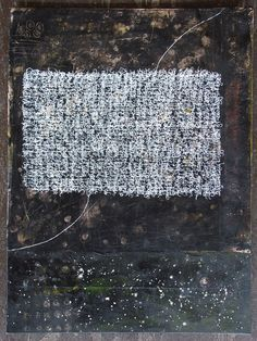 teathered to songs cast into space, alicia caudle, mixed media collage, painting
