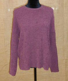 Zara Trafaluc fall winter long sleeve knit sweatshirt purple S/Small #ZARA #Pullover #Career