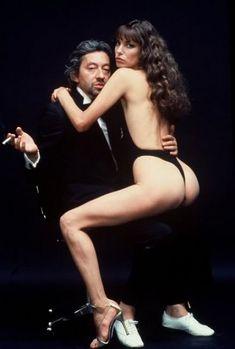 Serge Gainsbourg and Jane Birkin, 1970's Helmut Newton