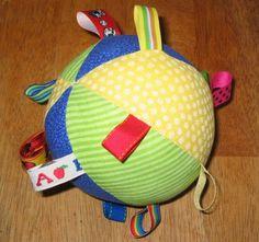 Taggie ball.  Gonna make this soon!