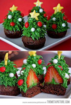 Delicious Trees. cutest thing ever. no recipe attached though
