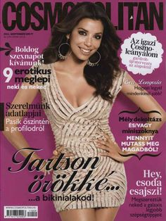 Cosmopolitan Hungary, September 2011 #EvaLongoria