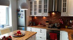 po remoncie kuchnia bielona debowa-metamorfoza - zdjęcie od monifiquemagnifique - Kuchnia - Styl Skandynawski - monifiquemagnifique