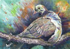 Bill Kassel Fine Arts: Finished - Mourning Dove