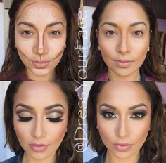 Highlight and contour by DressYourFace