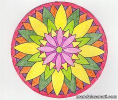 10 En Iyi Mandala Goruntusu Mandala Mandala Art Ve Desenler